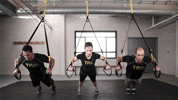 TRX para deportes de resistencia en grupo