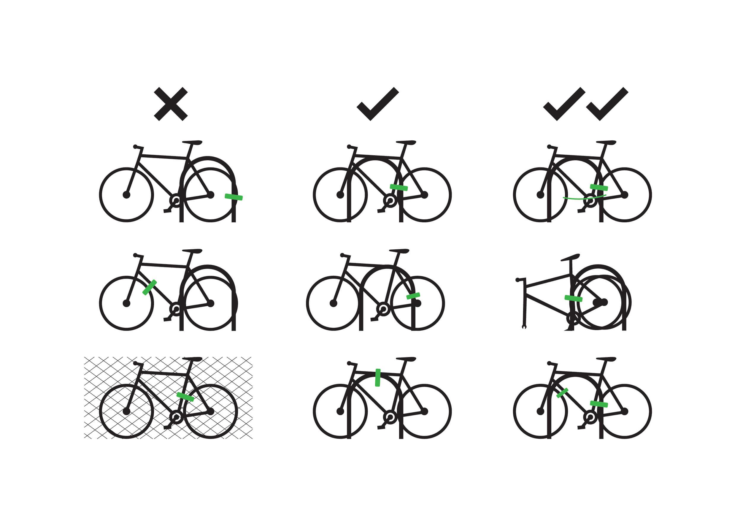 como candar la bici