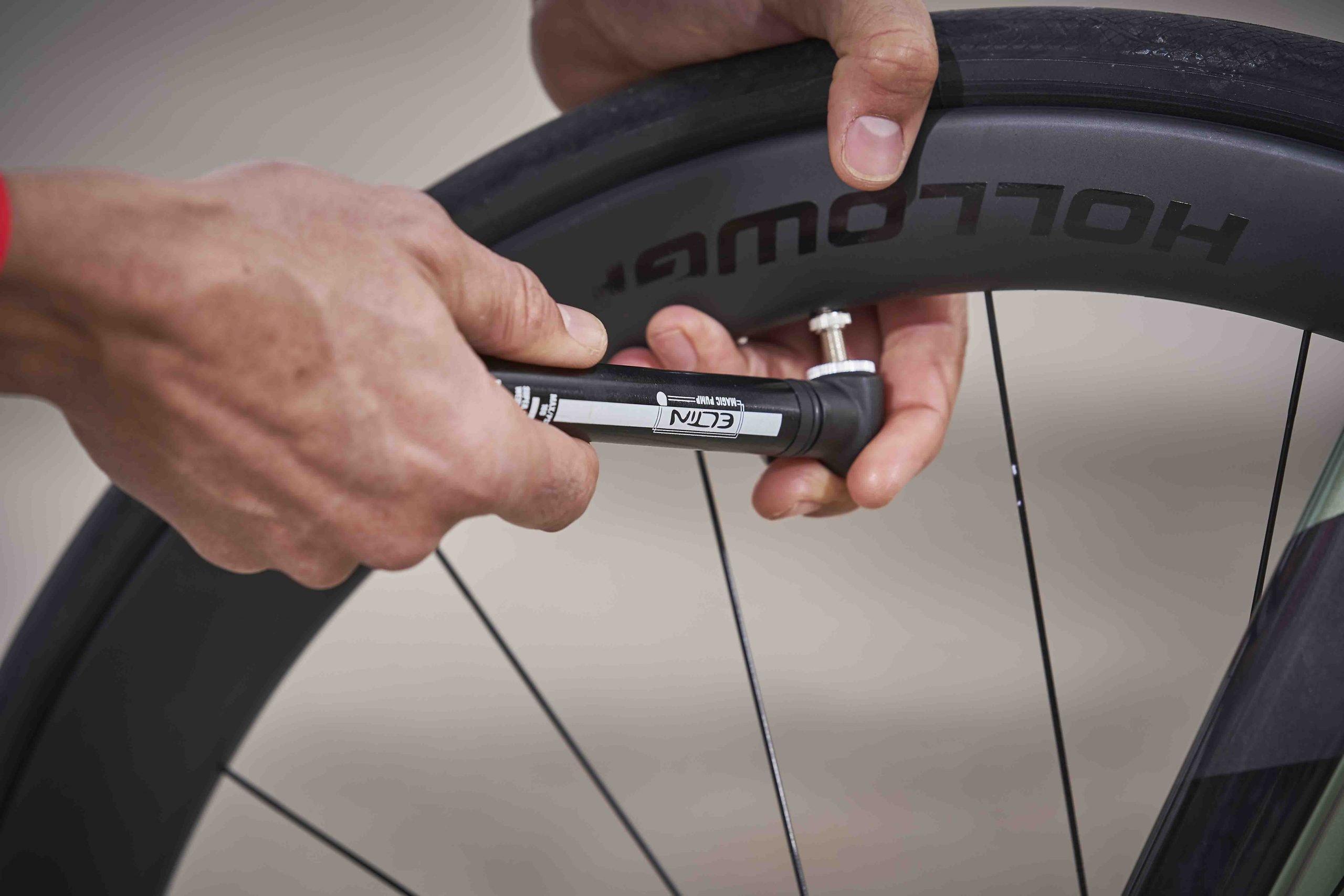 hinchadores de mano para bicicleta