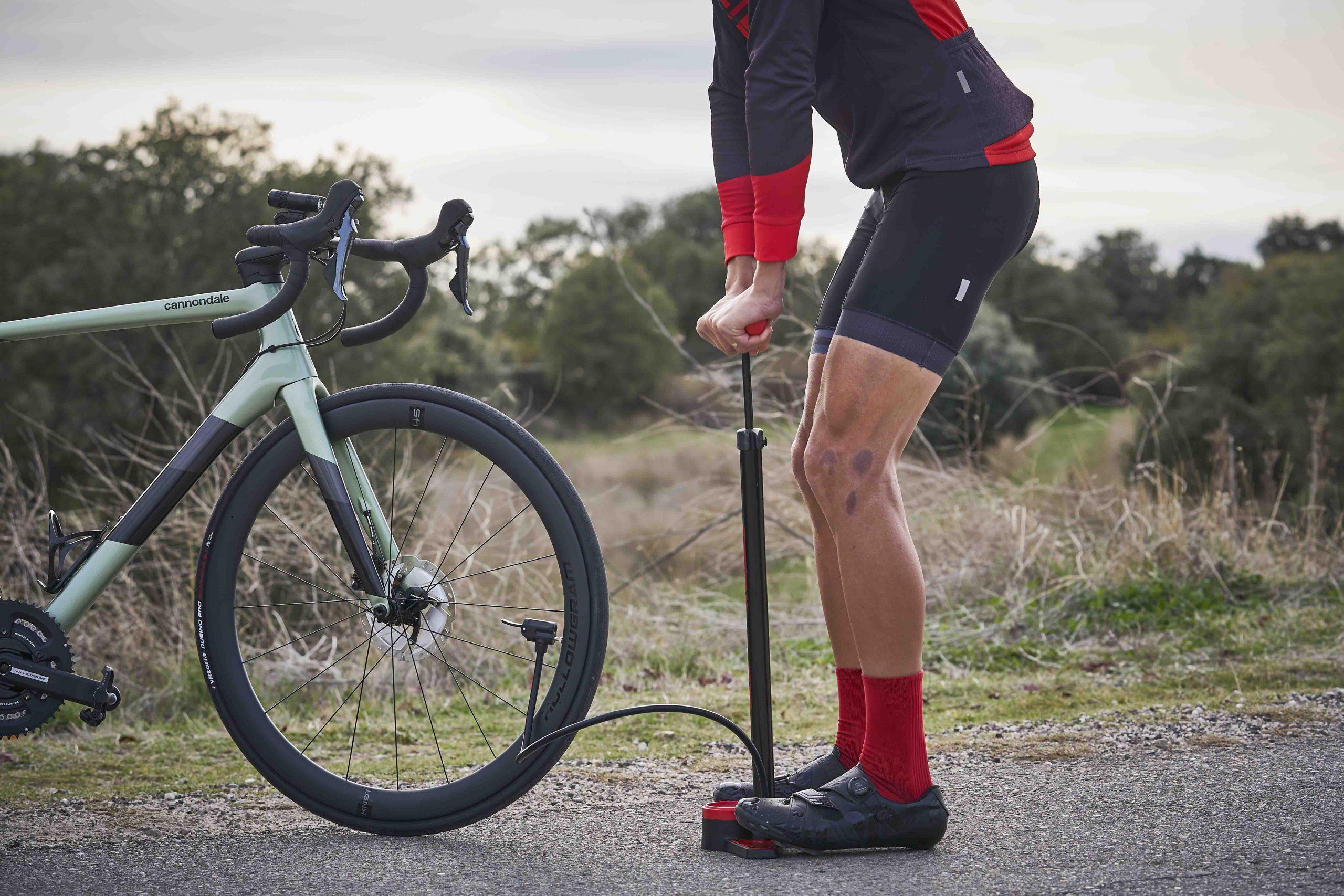 hinchadores de pie para bicicleta